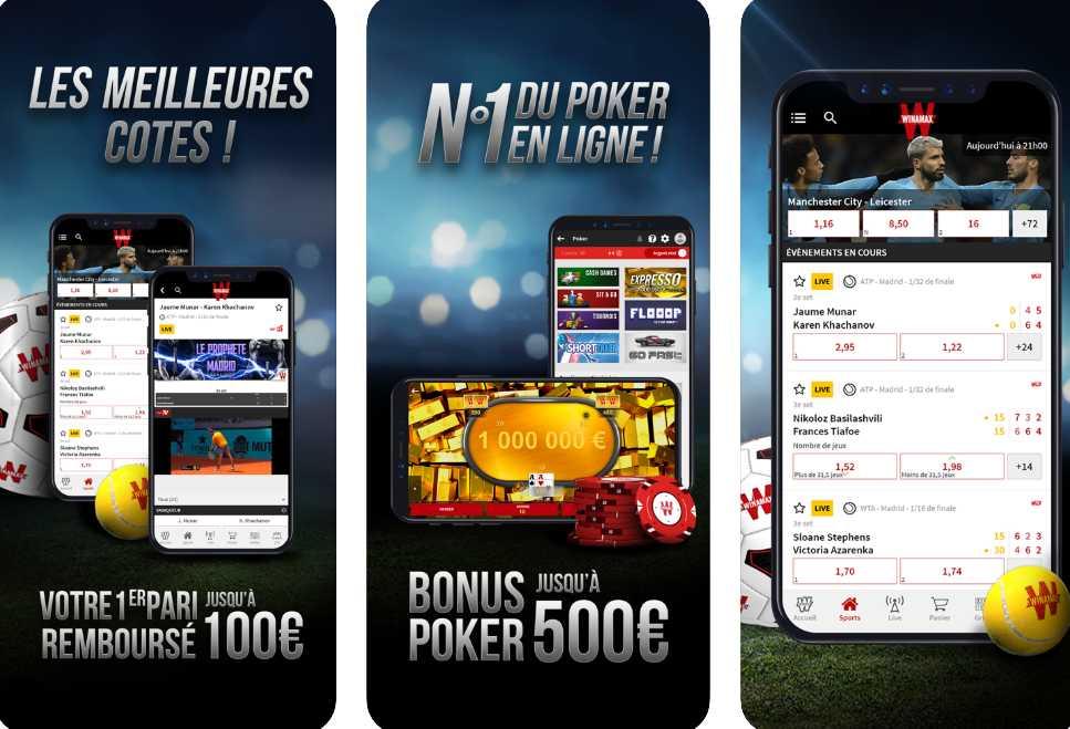 Winmax app mobile